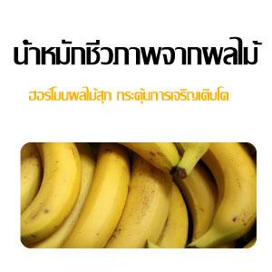 น้ำหมักชีวภาพจากผลไม้